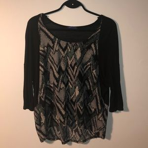 Sweet Claire dolman sleeve top